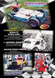 2012 BriSCA F2 Salutes Colin Higman Programme Taunton