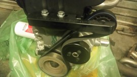 Ford ZETEC Idler Pulley Bracket for Water Pump Directional Change