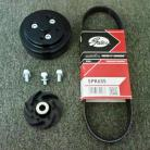 Ford ZETEC Reverse water pump impeller and pulley kit for water directional change.