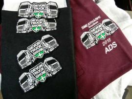 Devon Truck Show Polo/Hoodie Personlisation